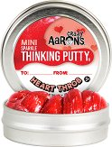 """Антистрес желе - Heart Throb - От серията """"Crazy Aaron's"""" -"""