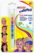 Бои за лице - Funtastics - Комплект от 7 цвята