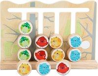 Лабиринт - Животни - Детска образователна играчка от дърво -