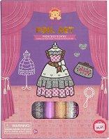 """Направи сама рокли за принцеси - Творчески комплект с блестящо фолио от серията """"Tiger Tribe"""" -"""