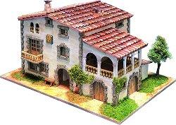 Къща - Emporda - Детски сглобяем модел от истински тухлички -