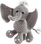 Изплети сама - Слонче - Творчески комплект - играчка