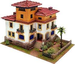 Къща - Хавана - Детски сглобяем модел от истински тухлички -