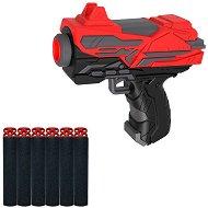 """Пистолет - Комплект с 6 меки патрона от серията """"Red Guns"""" -"""