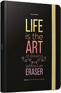 Тефтер - Life-book - С размери 13.5 x 21.5 cm