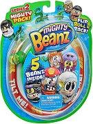 Mighty Beanz: Комплект от 5 бобчета за игра - Играчка изненада - играчка