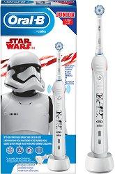 Oral-B Junior Star Wars Electric Toothbrush 6+ - Детска електрическа четка за зъби - продукт