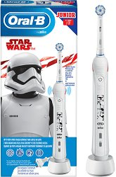 Oral-B Junior Star Wars Electric Toothbrush 6+ - Детска електрическа четка за зъби -