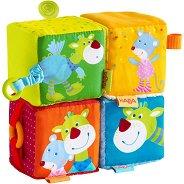 Меки бебешки кубчета - Комплект от 4 броя -