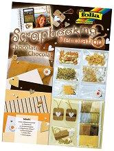 Направи сам скрапбукинг - Шоколад - Творчески комплект -