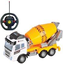 Бетоновоз - Детска играчка с дистанционно управление -
