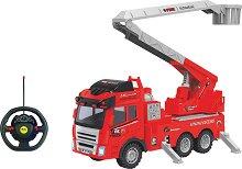 Пожарна - Детска играчка с дистанционно управление - играчка