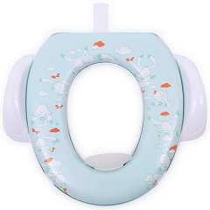 Детска седалка за тоалетна със закачалка - Зайчета -