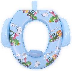 Детска седалка за тоалетна с дръжки - Влакче -