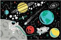 """Космос - Фосфоресциращ пъзел от серията """"Mudpuppy"""" -"""