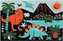 """Динозаври - Фосфоресциращ пъзел от серията """"Mudpuppy"""" - пъзел"""
