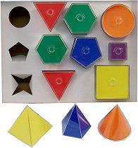 Геометрични фигури са сглобяване - играчка