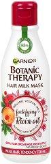 Garnier Botanic Therapy Fortifying Ricin Oil Hair Milk Mask - Маска с рициново масло за слаба и склонна към накъсване коса - спирала
