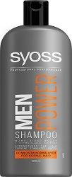 """Syoss Men Power Shampoo - Шампоан за мъже за нормална коса от серията """"Syoss Men"""" -"""