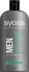 """Syoss Men Volume Shampoo - Шампоан за мъже за нормална до тънка коса от серията """"Syoss Men"""" -"""