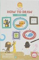 """Нарисувай сам - Животни - Творчески комплект от серията """"Tiger Tribe"""" -"""