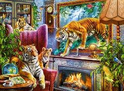 Тигри, излезли от картина - Ян Патрик Красни (Jan Patrik Krasny) - пъзел