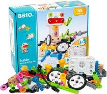 Конструктор - Record & Play - Детски комплект от 68 части -