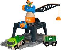 """Контейнерен кран - Детска играчка от серията """"Smart Tech"""" -"""