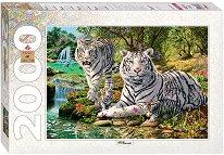 """Бели тигри - От колекцията """"Art"""" -"""