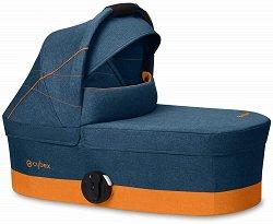 "Кош за новородено бебе - S 2019: Tropical Blue - Аксесоар за детска количка ""Balios S"" -"