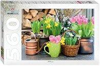 """Пролетни цветя - Пъзел от колекцията """"Park & Garden"""" -"""