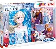 """Замръзналото кралство 2 - 3 пъзела от серията """"Замръзналото кралство"""" -"""