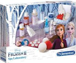 Лаборатория за козметика - Замръзналото кралство 2 - Образователен комплект - раница