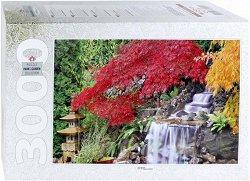 """Водопад в японската градина - От колекцията """"Park & Garden"""" - пъзел"""
