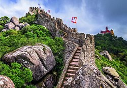 """Мавритански замък, Синтра, Португалия - От колекцията """"Travel"""" -"""