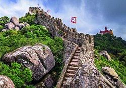 Мавритански замък, Синтра, Португалия -