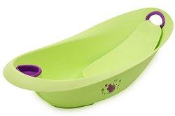 Бебешка вана за къпане с изход за оттичане - Luxe Hippo - С дължина 87 cm -