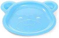 """Детска чиния за хранене - Мече - За бебета над 6 месеца от серия """"Be Active"""" -"""