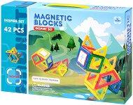 Магнитен конструктор - Образователна играчка - играчка