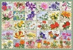 Азбука на цветята - пъзел