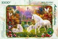 """Замъкът на еднорозите - От колекцията """"Author's"""" : MGL Art Studio - пъзел"""