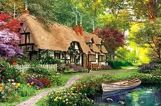 """Викторианска градина - От колекцията """"Author's"""" : Доминик Дейвисън (Dominic Davison) -"""