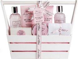 IDC Institute Secret Stories - Подаръчен комплект с козметика за баня -