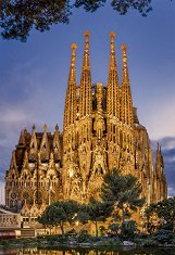Саграда Фамилия, Барселона -