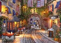 Пешеходна алея във Франция -