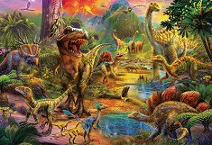 Земя на динозаври -