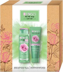Nature of Agiva Acne Help Gift Set - гел