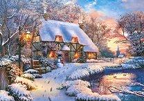 Къщичка през зимата - Доминик Дейвисън (Dominic Davison) -