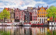 Танцуващи къщи, Амстердам - пъзел