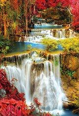 Водопад в гората -